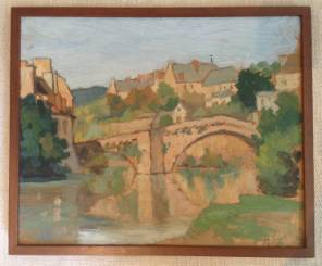 French Oil Painting of Provence
