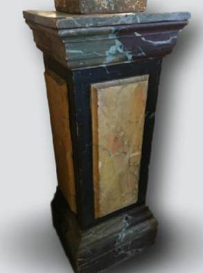 Pair of French 19th Century Plinths
