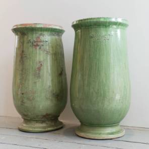 A Pair of French Pots