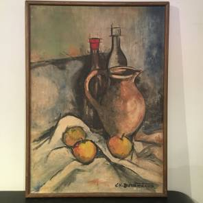 French Mid 20th C. Still Life Painting