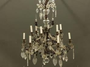 Early 20th C. French Chandelier
