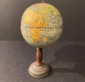 An Early 20th C French Small Globe