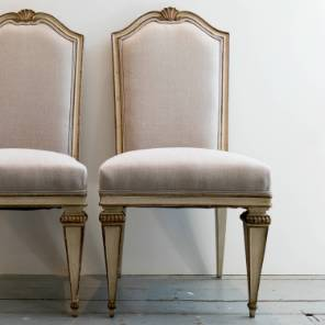 6 French Dinning Chairs