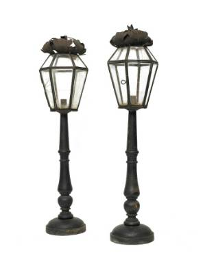 A Pair of 19th Century Italian Processional Lanterns