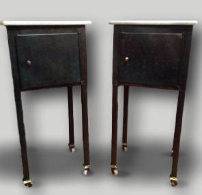Pair of French 1930s Bedside Tables