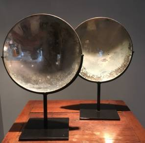 Pair of 19th Century Parabolic Mirrors